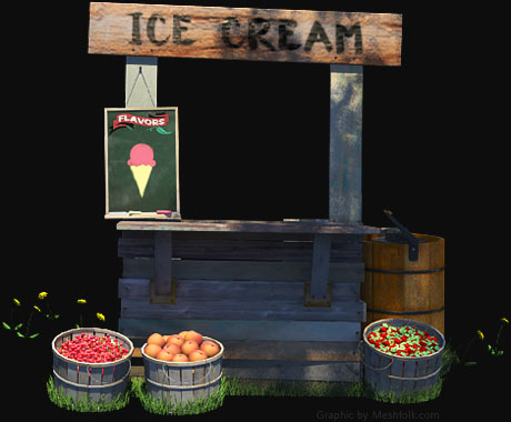 Breyers® Ice Cream Stand